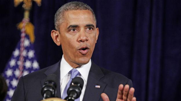 Barack Obama verteidigt in Kalifornien die Überwachung von Daten durch den Geheimdienst NSA.