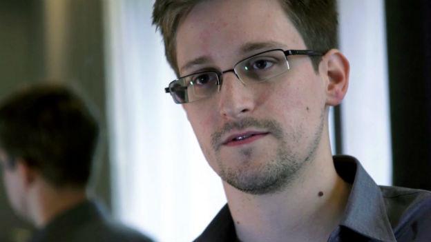 Edward Snowden. Der 29-jährige Amerikaner arbetet für eine externe Technologieberatung.