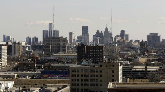 Trotz drohender Insolvenz: Detroit glaubt an den Wiederaufbau