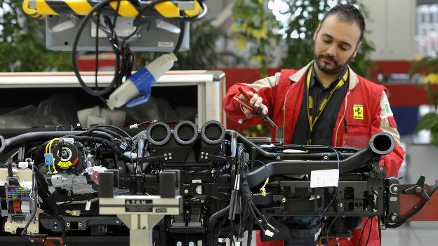 Auch der italienische Autohersteller Ferrari litt zuletzt unter der Wirtschaftskrise.