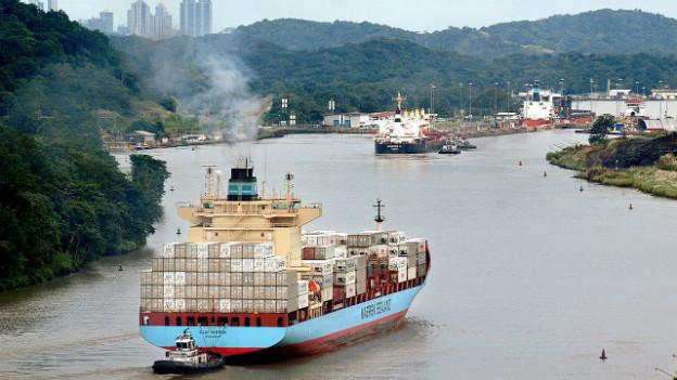 Der Panamakanal (im Bild) erhält Konkurrenz aus Nicaragua.