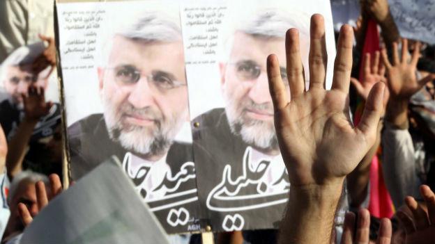 Wahlkampf in Teheran.