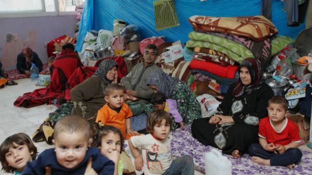 Dem Bürgerkrieg entronnen: Syrische Flüchtlinge.
