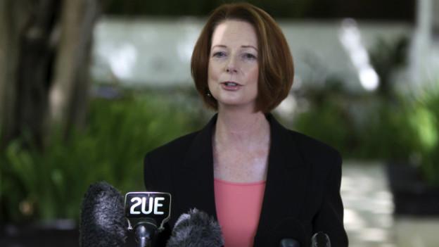 Wahlkampf mit sexistischer Note: vorallem Premierministerin Julia Gillard wird beschimpft.