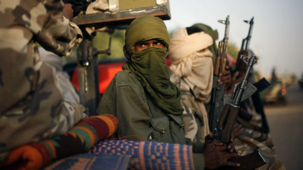 Touareg-Rebellen unterwegs in Malis Norden.