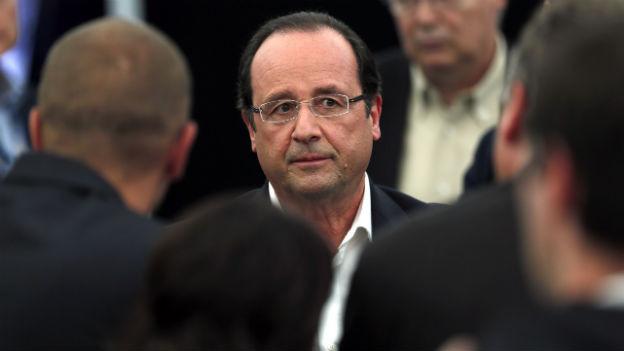 Hollande unter Druck: Er muss das Rentensystem reformieren.