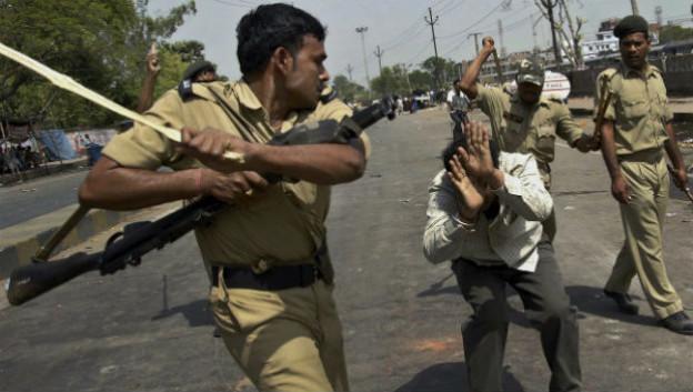 Gewalt ist in Indien an der Tagesordnung.