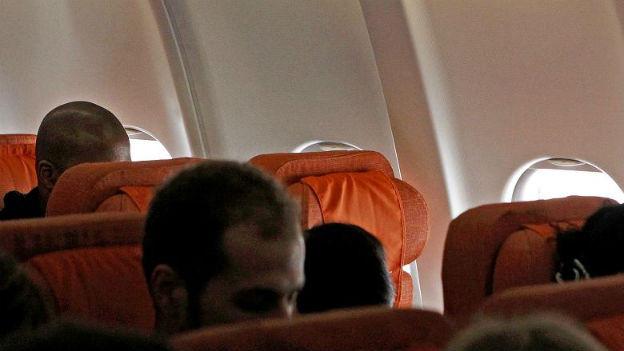 Kein Snowden in Sicht - Sitz 17A bleibt leer.
