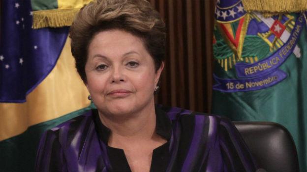 Brasiliens Präsidentin Rousseff: Volk soll bei den Reformen mitreden können.
