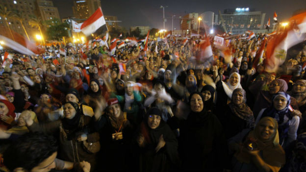 Proteste gegen Ägyptens Präsident Mohammed Mursi