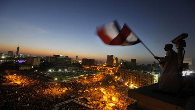 Proteste in Kairo.