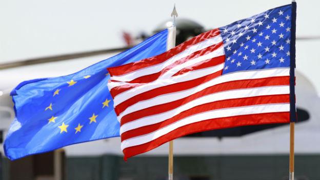EU-USA: Scharfe Töne wegen Bespitzelung.