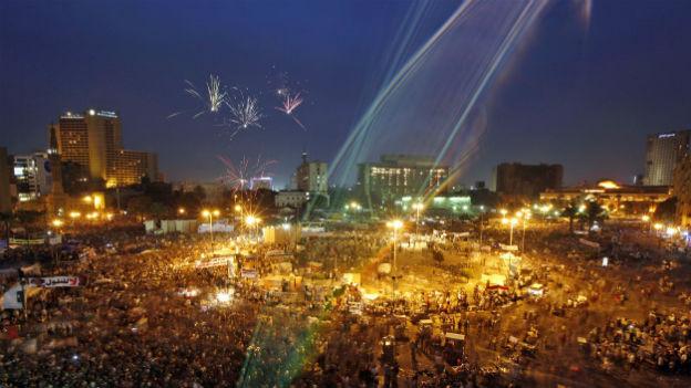 Demonstrationen auf dem Tahrir-Platz