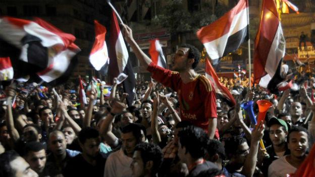 Massenprotest auf dem Tahrir-Platz in Kairo.