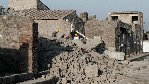 Im November 2010 stürzte im antiken Pompeji ein Haus ein