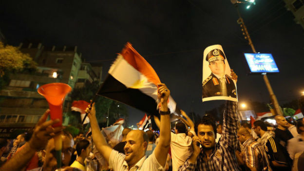 Grosser Jubel in Ägypten