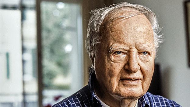 Arnold Hottinger, der grosse alte Mann unter den Nahostexperten.