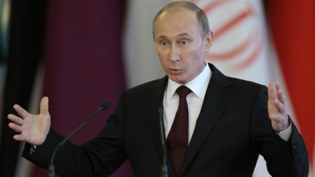 Hohe Ausgaben - Präsident Putin hat im Wahlkampf (zu) viel versprochen.