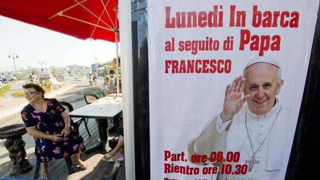 Auf Lampedusa wird Papst Franziskus erwartet.