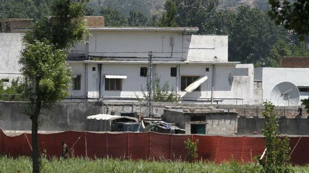 In diesem Haus bei Abbottabad hat eine US-Spezialeinheit im Jahr 2011 Osama Bin Laden getötet.