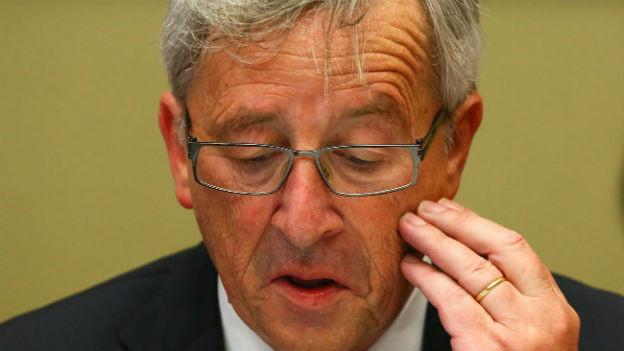 Jean-Claude Juncker während des Parlamentshearings am 10. Juli 2013