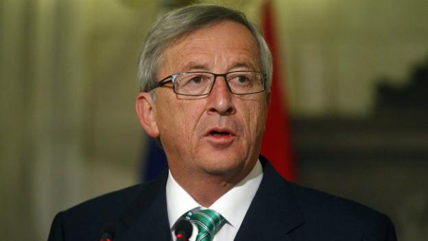 Der luxemburgische Regierungschef Jean-Claude Juncker tritt ab - zumindest vorläufig.