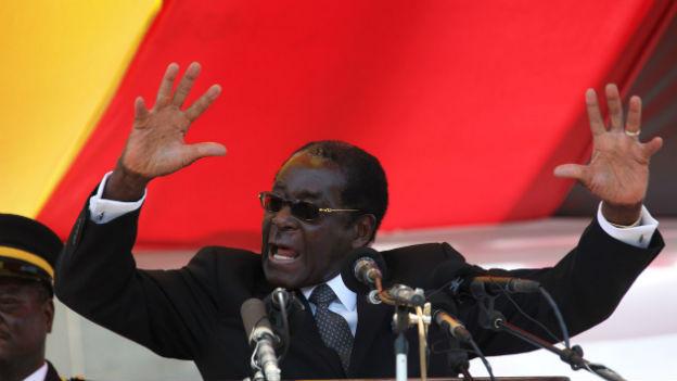 Robert Mugabe will an der Macht bleiben (Aufnahme von 2010).