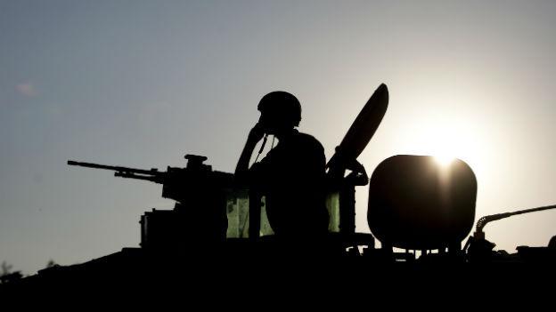 Israelische Panzer werden weniger.