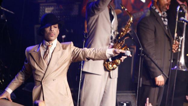 Prince am Montreux Jazz Festival 2007.