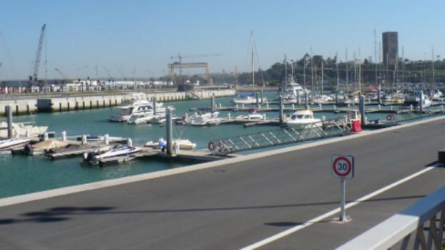 Die Marina von Rabat-Salé