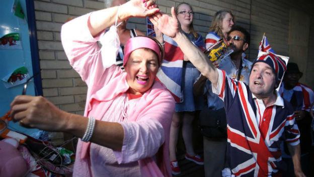 Freude herrscht über den britischen Thronfolger.