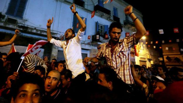Demonstration in Tunesien: grosser Zorn nach «feigem» Mord.