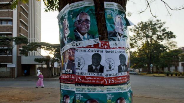 Die Menschen in Simbabwe haben wenig Vertrauen in die Politiker.