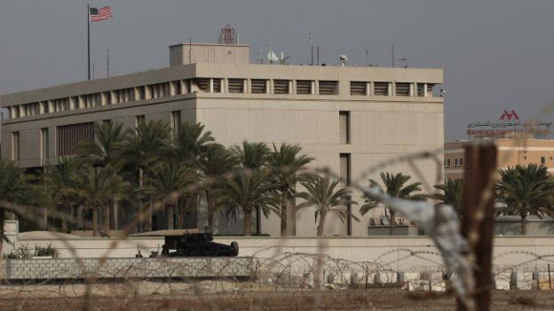 Auch die US-Botschaft in Manama, Bahrain, bleibt geschlossen.