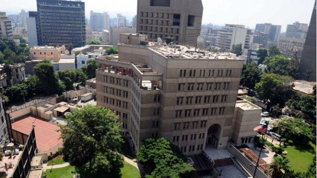 Die Botschaft der USA in Kairo. Im Visier der Al Kaida?