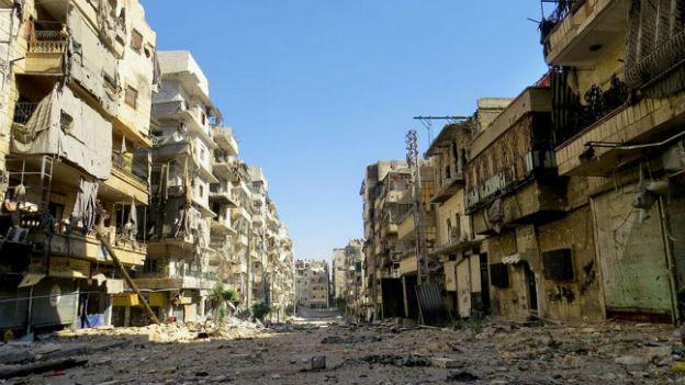 Aleppo liegt in Trümmern – die Menschenrechtlerin Rovero war kürzlich in der Stadt.