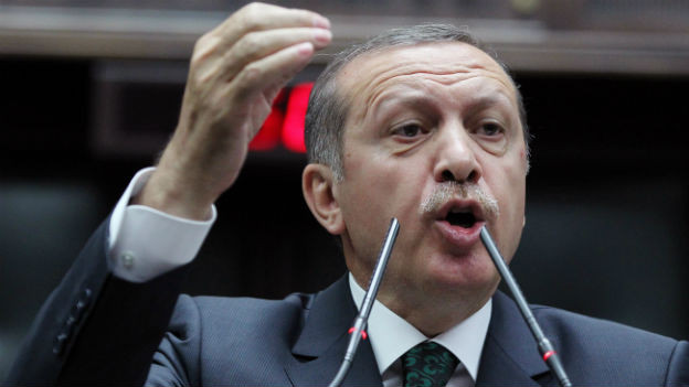 Der türkische Ministerpräsident Erdogan, hier bei einem Auftritt im Juni.