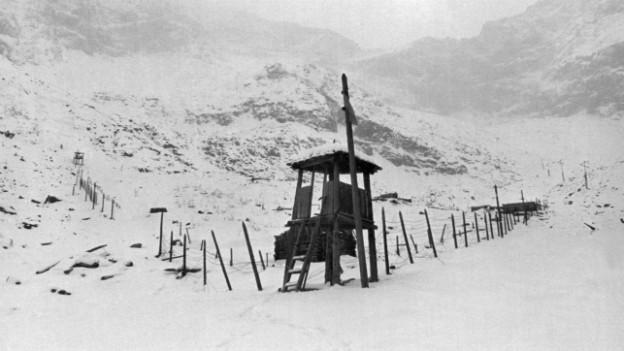 Gulag im Mramornoye-Tal, aufgenommen im Dezember 1989.