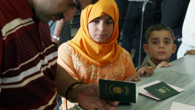 Syrien: eine Million Kinder mussten bereits flüchten, sagt die UNO.