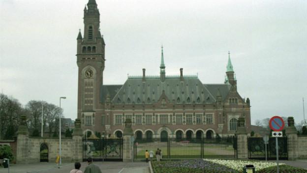 Der Friedenspalast in Den Haag.