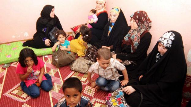 Ungewisse Zukunft: Syrische Flüchtlinge in Irak (24.8.2013)