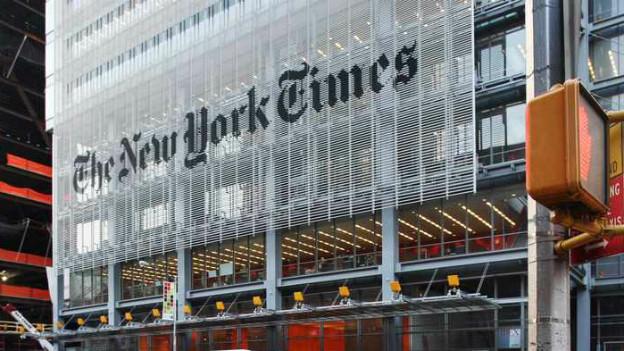 Die Online-Ausgabe der New York Times wurde gehackt.