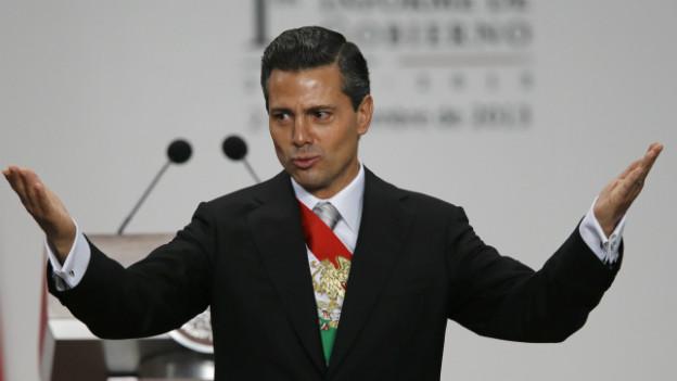 Seit neun Monaten in Mexiko im Amt: Enrique Peña Nieto.