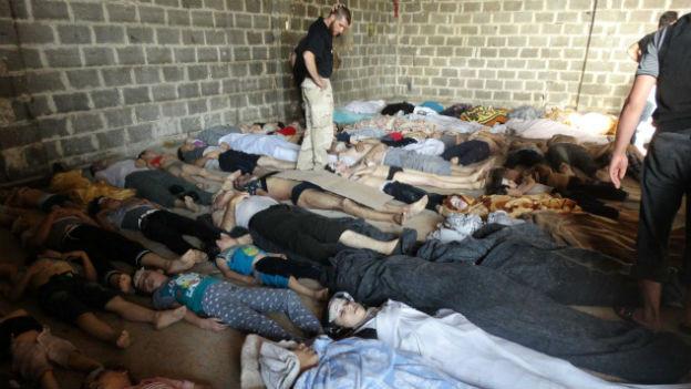 Giftgasopfer in Syrien: Ist ein Militärschlag als Vergeltung gerecht?