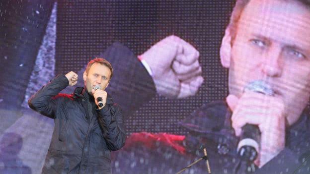 Alexey Nawalny: Ein glaubwürdiger Kämpfer gegen die Korruption.