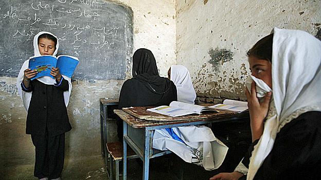 Eine Schule in Kuduz, im Norden Afghanistans.