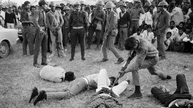 1971 - erlangte Bangladesch die Unabhängigkeit von Pakistan
