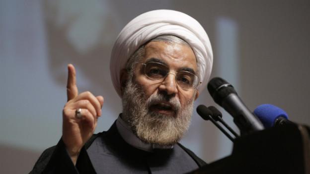 Irans Hassan Rohani geht auf Distanz zu Syrien.
