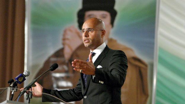 Der Sohn des libyschen Ex-Diktators muss sich vor Gericht verantworten.