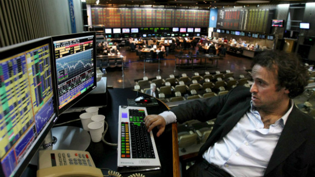 Die Börse in Buenos Aires 2008 - Argentinien kämpft mit Problemen aus der Vergangenheit.